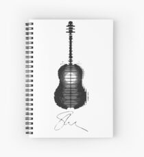 Toronto Skyline Guitar - Shawn Mendes Spiral Notebook