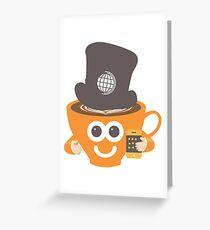 gadget coffee Greeting Card