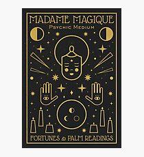 Lámina fotográfica Madame Magique