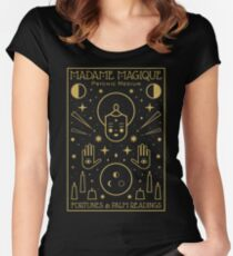 Madame Magique  Fitted Scoop T-Shirt