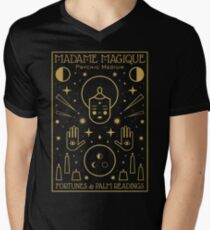 Madame Magique  Men's V-Neck T-Shirt