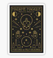 Madame Magique  Sticker