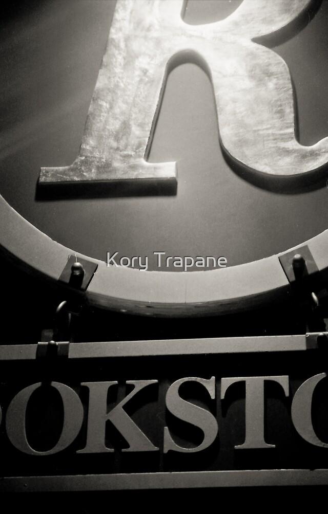 Bookstore Signage by Kory Trapane