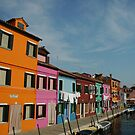 Burano Houses by catdot