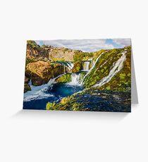 Fairytale Waterfall  Greeting Card