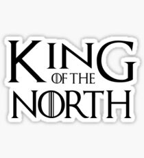 Tom Brady King Of The North Sticker