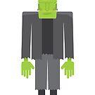 The Frankenstein Monster by Wolffdj