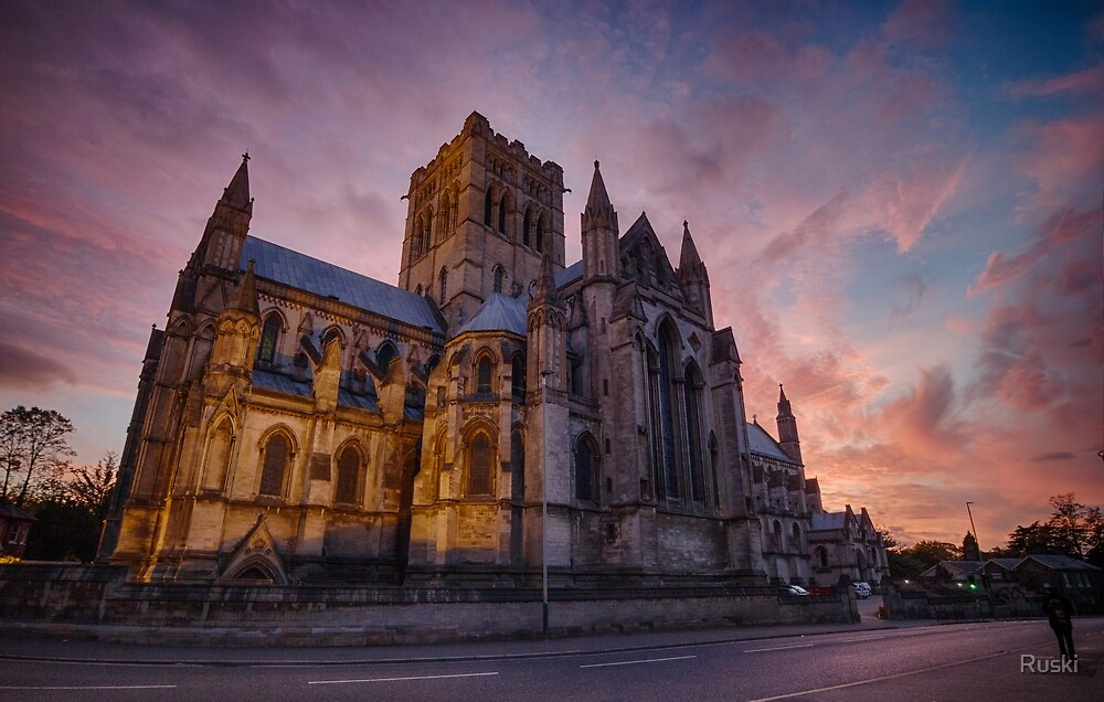 The Cathedral of St John the Baptist, Norwich by Ruski