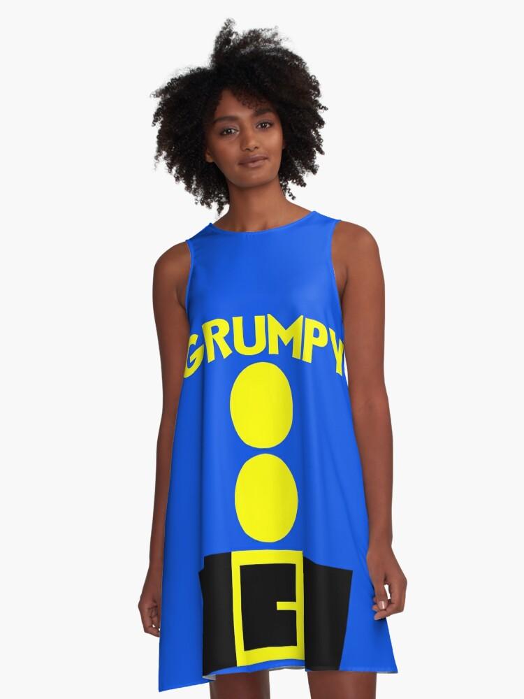 'Snow White Grumpy 7 Dwarfs Halloween Group Costume Shirt' A-Line Dress by  ravishdesigns