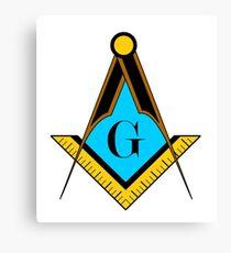 freemason symbol Canvas Print
