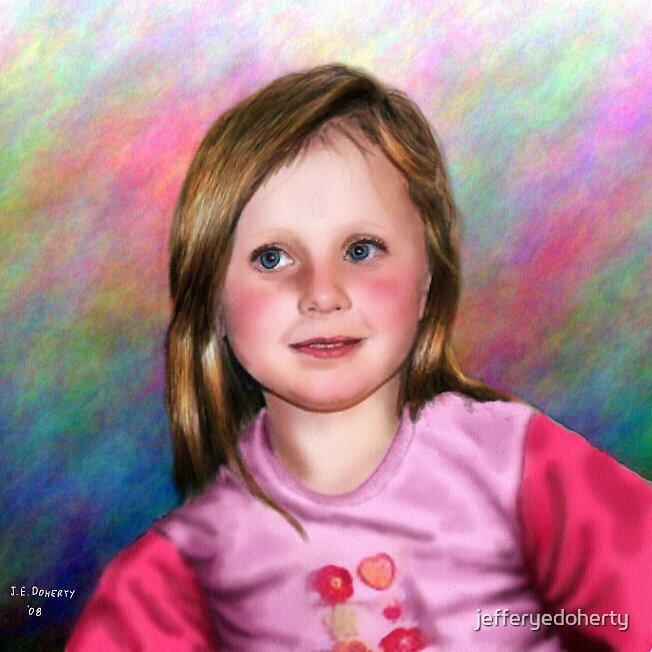 Rainbow Rosie by jefferyedoherty