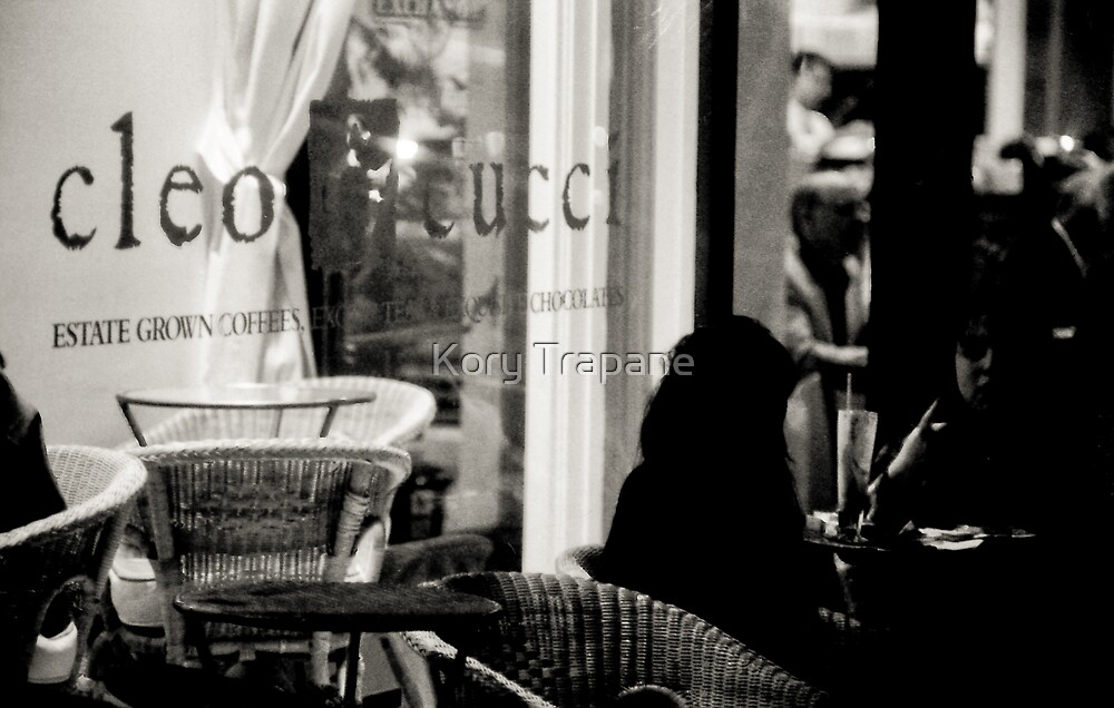 Cleo Cafe Conversation by Kory Trapane