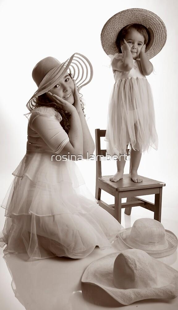 Hats galore by Rosina  Lamberti