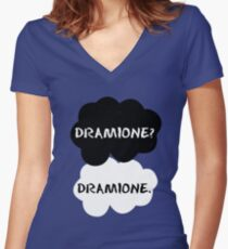 Dramione - TFIOS Women's Fitted V-Neck T-Shirt