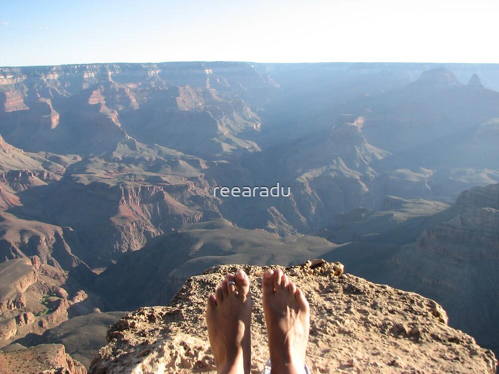 Feet over Grand Canyon!! by reearadu