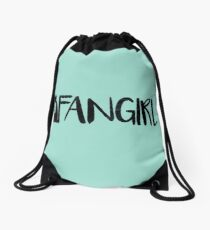 Fandoms Save Fans, Fans Save Fandoms. Drawstring Bag