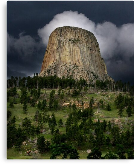 Devils Tower by Anibal