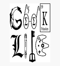 Geek Life Photographic Print