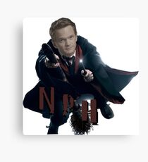 Neil Patrick Harris-NPH/HP Canvas Print