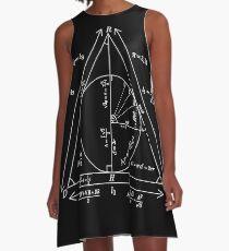 Mathly Hallows (Clean Version) A-Line Dress