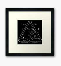 Mathly Hallows (Clean Version) Framed Print