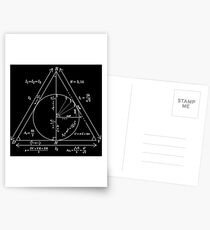 Mathly Hallows (Clean Version) Postcards