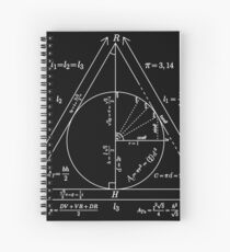 Mathly Hallows (Clean Version) Spiral Notebook