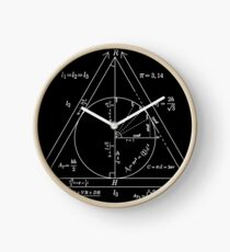 Mathly Hallows (Clean Version) Clock