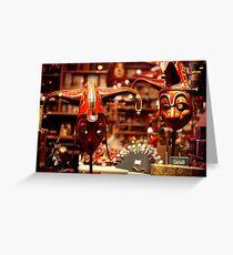 Carnevale Greeting Card