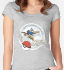 Gotta Catch 'Em All Women's Fitted Scoop T-Shirt
