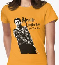 Neville Longbottom: The True Hero Women's Fitted T-Shirt