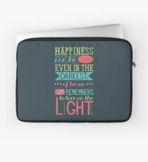 Happiness Laptop Sleeve