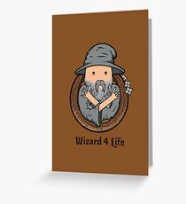Wizards Represent! Greeting Card
