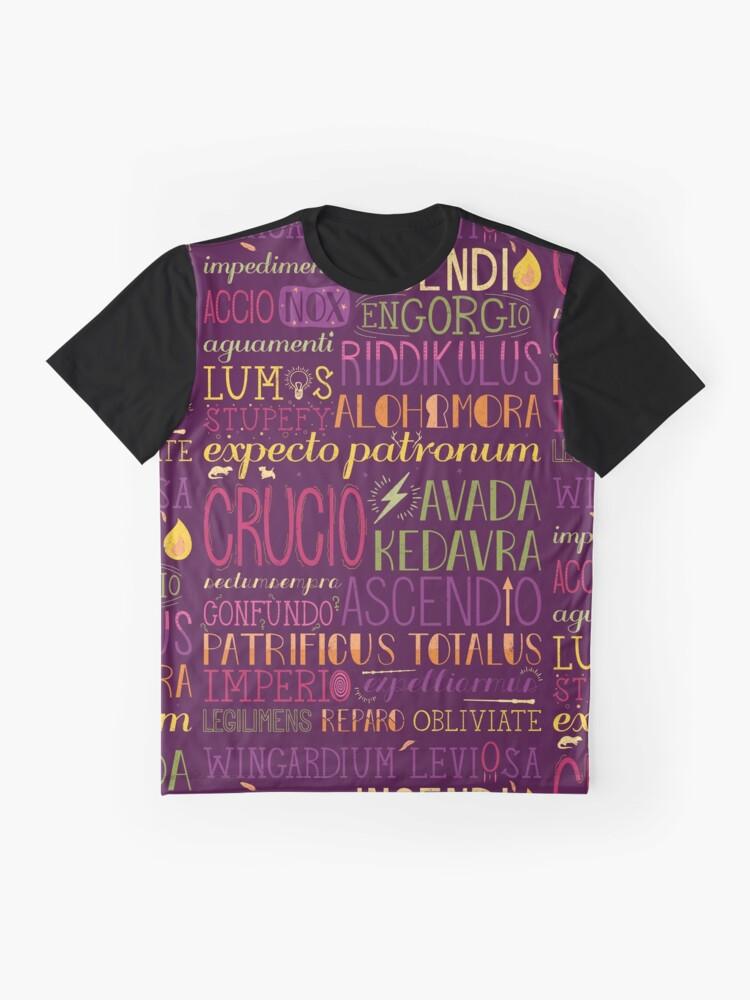 Alternative Ansicht von Zaubersprüche Grafik T-Shirt