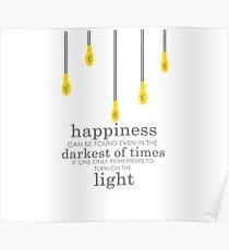happiness // albus dumbledore Poster