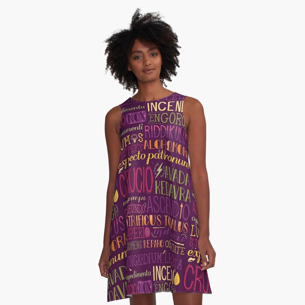 Spells A-Line Dress