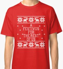 A Festivus For The Rest Of Us - Ugly Sweater - Seinfeld Classic T-Shirt