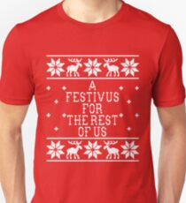 A Festivus For The Rest Of Us - Ugly Sweater - Seinfeld T-Shirt