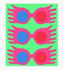 specs pattern Photographic Print