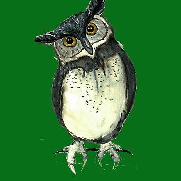 Eagle owl by cmcewan