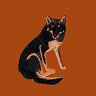 Black dingo (c) 2017 by belettelepink