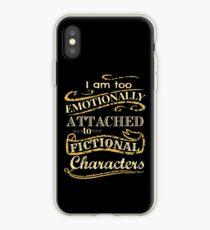 Vinilo o funda para iPhone Estoy demasiado apegado emocionalmente a los personajes de ficción