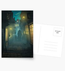 Diagon Alley Postcards