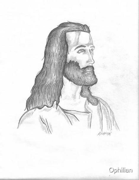 Jesus Christ by Ophilian