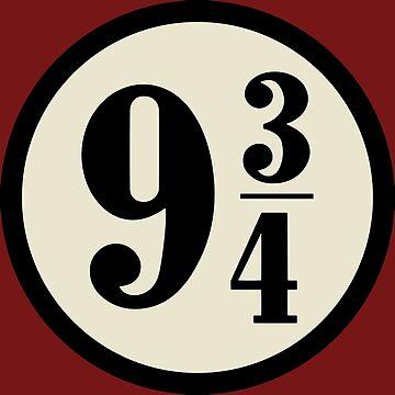 Platform nine and three quarters by rakelittle
