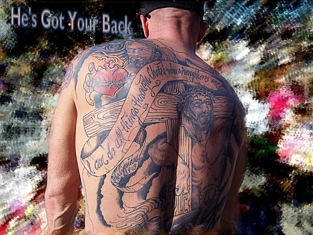 He's Got Your Back by Liz Wear