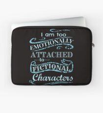 Ich bin zu emotional an fiktive Charaktere # 2 gebunden Laptoptasche