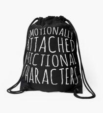 Mochila saco emocionalmente apegado a personajes de ficción #blanco