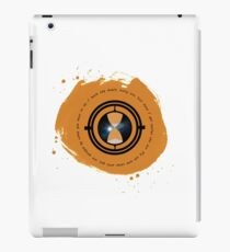 Travel through time iPad Case/Skin