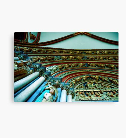 Untilted Canvas Print